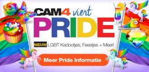 CAM4's Wereld Pride CamBoy Uitzendschema
