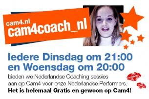LET OP: Live Coach Sessies met Selena in het Nederlands! ALLEEN OP DINSDAG 21.00 TIJDENS DE VAKANTIE!