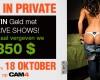 Win Tokens met de CAM4 Privé Shows!