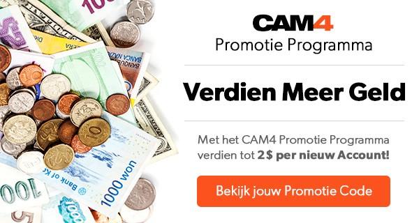 Verhoog je Inkomen met het CAM4 Promotie Programma; TIPS