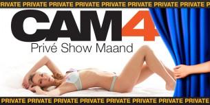 Opnieuw Uitgelicht: De CAM4 Privé Show Functie!