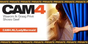 Interview met LadyMermaid over de #CAM4 Privé Shows!