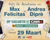 Max Felicitas en Andrea Diprè in Nederland voor CAM4 !