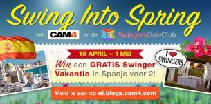 Swing into Spring met CAM4 en de SwingersDateClub!