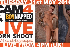 Gay Porn Shoot Live Op CAM4 – Boynapped