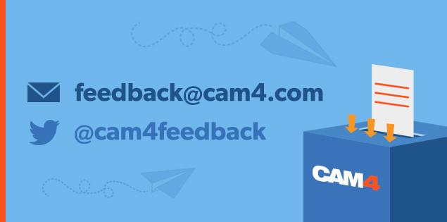 Help ons CAM4 te Verbeteren! Deel je Feedback!