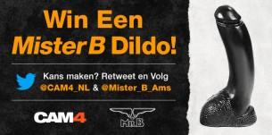 Win een Mister B Dildo!