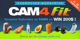Verzamel CAM4 Fit Kadootjes en WIN $200 ! –> Winnaars!
