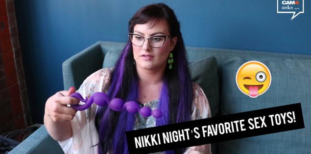 Top 3 Sex Speeltjes volgens Nikki Night (VIDEO)