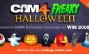Freaky Halloween Kadootjes Wedstrijd op CAM4 !