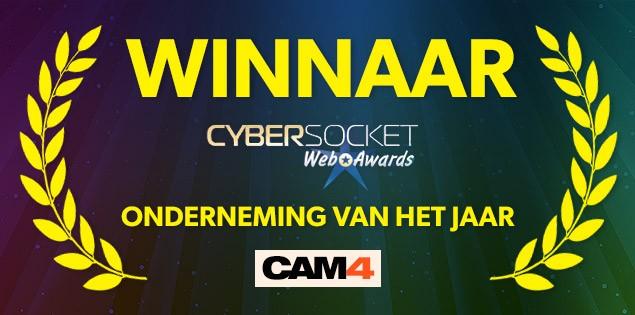 CAM4 Wint de 'Onderneming van het Jaar' Award!