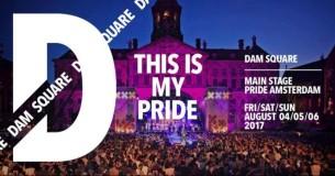 HET Pride Feest! 4, 5 & 6 Augustus op de DAM AMSTERDAM