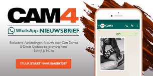 CAM4 Whatsapp Updates op je Telefoon!