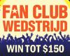 Fan Club Wedstrijd 1- 31 juli