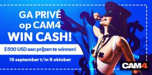Privéshow Wedstrijd van 16 september t/m 6 oktober