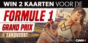 Win 2 eersterangs kaarten voor de Grand Prix in Zandvoort!